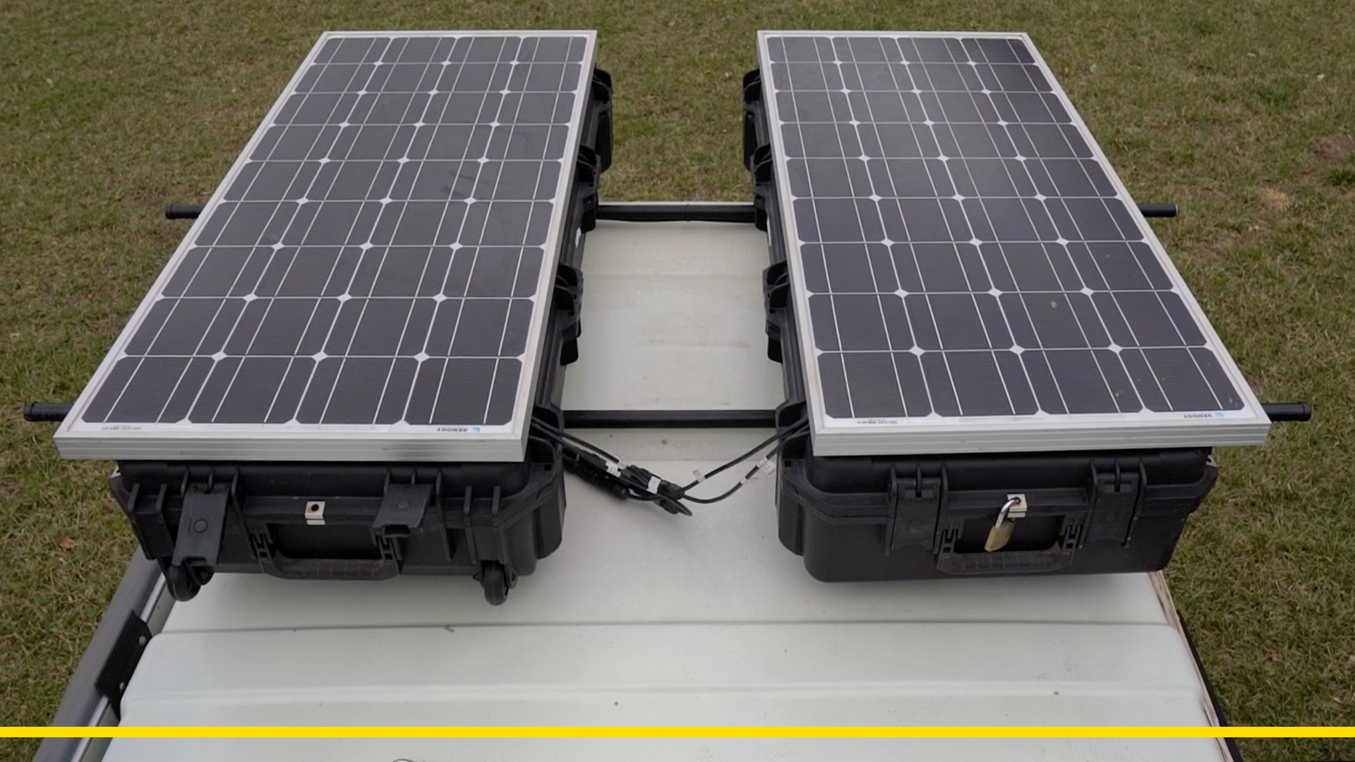 Solar Panels On Rifle Cases Live Work Wander